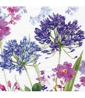 Comprar servilleta para decoupage agaphantus azul de Conideade