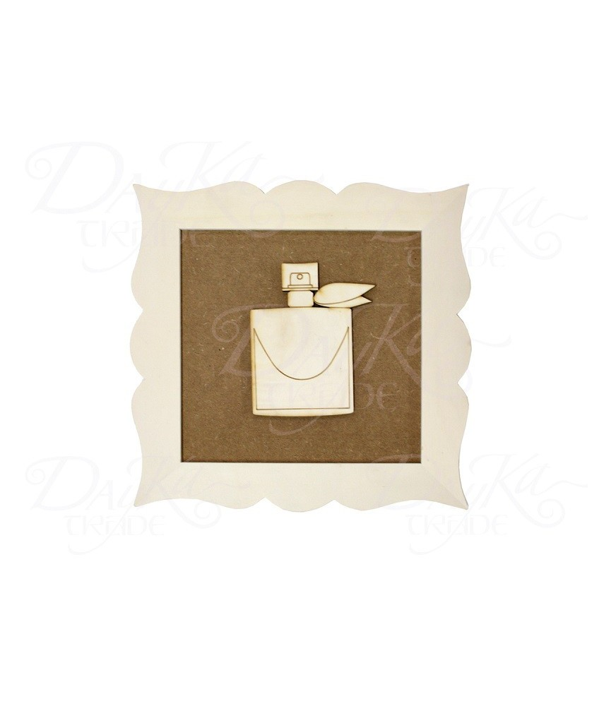 Marco silueta perfume nudo