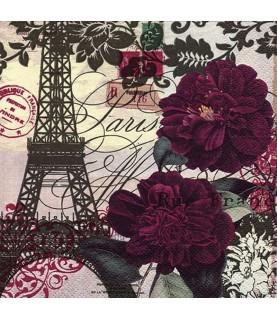 Comprar servilleta para decoupage arte en Paris de Conideade