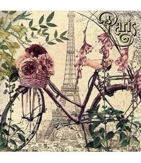 Comprar Servilleta para decoupage flores en Paris de Conideade