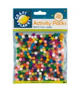 Comprar Bolsa de micro pompon de colores de Conideade