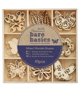 Comprar Surtido de adornos de madera Mariposas de Conideade