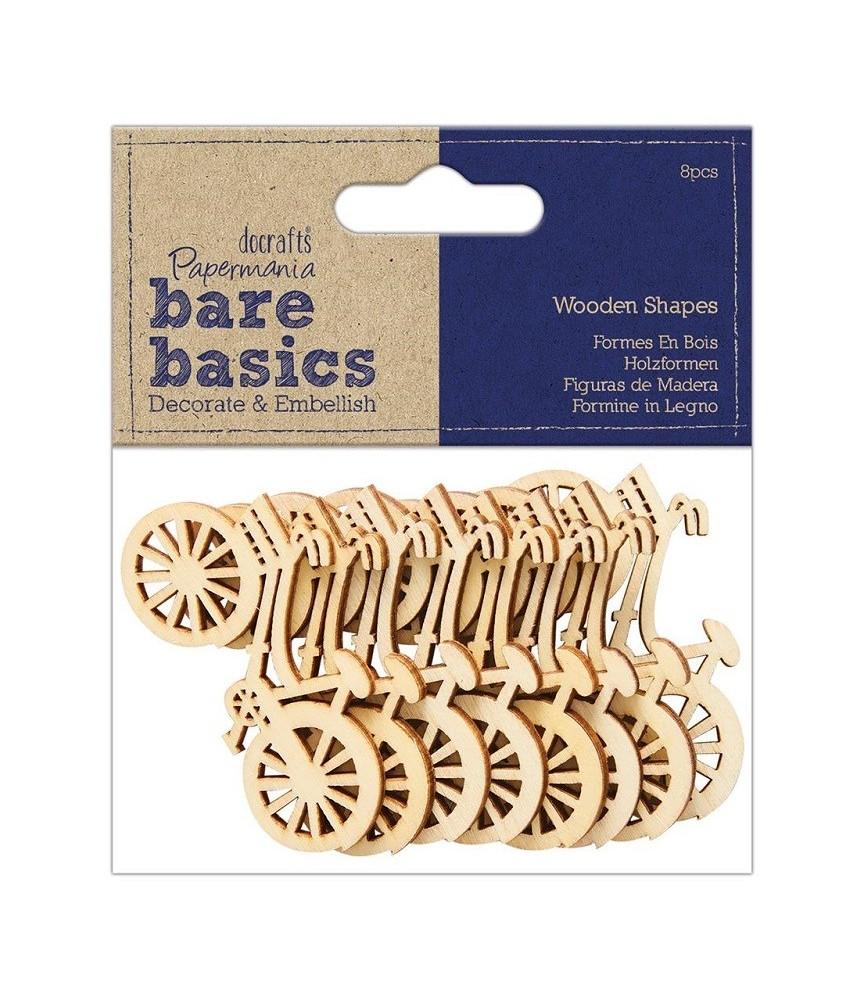 Pack 8 bicicletas de madera