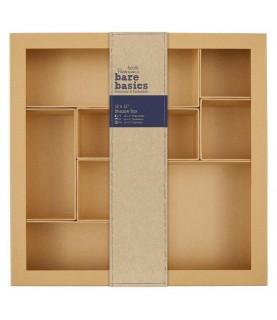 Caja clasificadora de carton 30x30