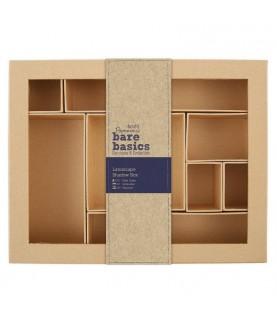 Caja clasificadora de carton 28 x 22 cm