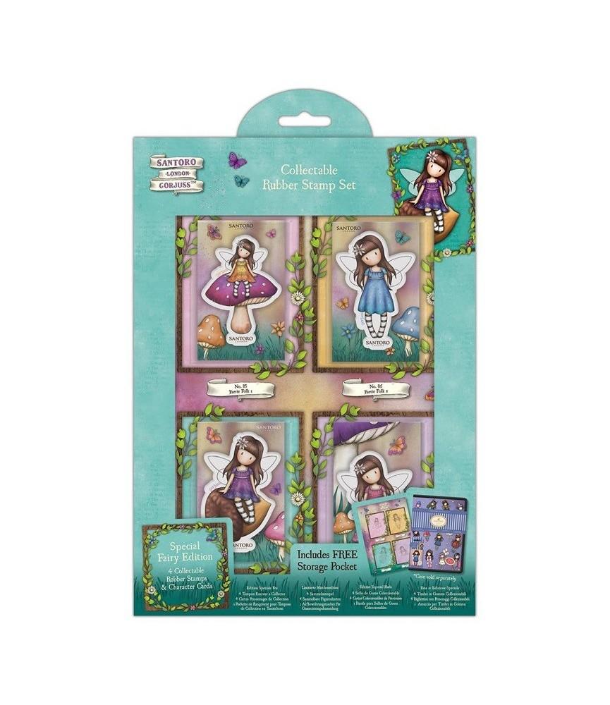 Hoja con 4 sellos coleccionables edicion especial hada