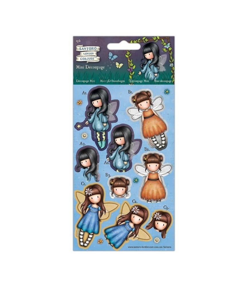 Pack para hacer muñecas Gorjuss 3D Faerie Folk