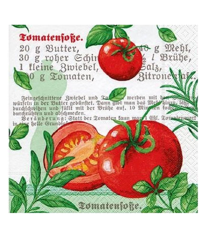 servilleta para decoupage Tomate