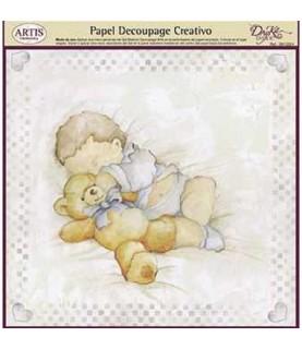 Comprar Papel decorativo para pegar bebe dormido de Conideade