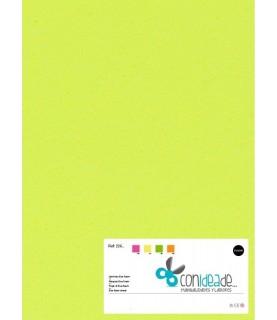 Goma eva adhesiva amarillo fluor
