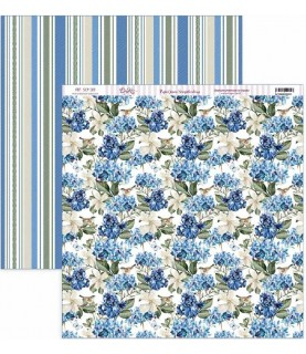 "Comprar Papel scrap Nature in Blue ""Hortensias azules"" de Conideade"