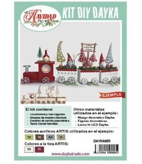 Comprar Kit DIY tren de madera con setas de Conideade