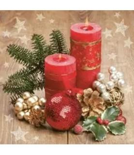 Comprar Servilleta para decoupage centro velas navidad de Conideade