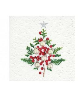 Comprar Servilleta Navidad arbol con bayas de Conideade