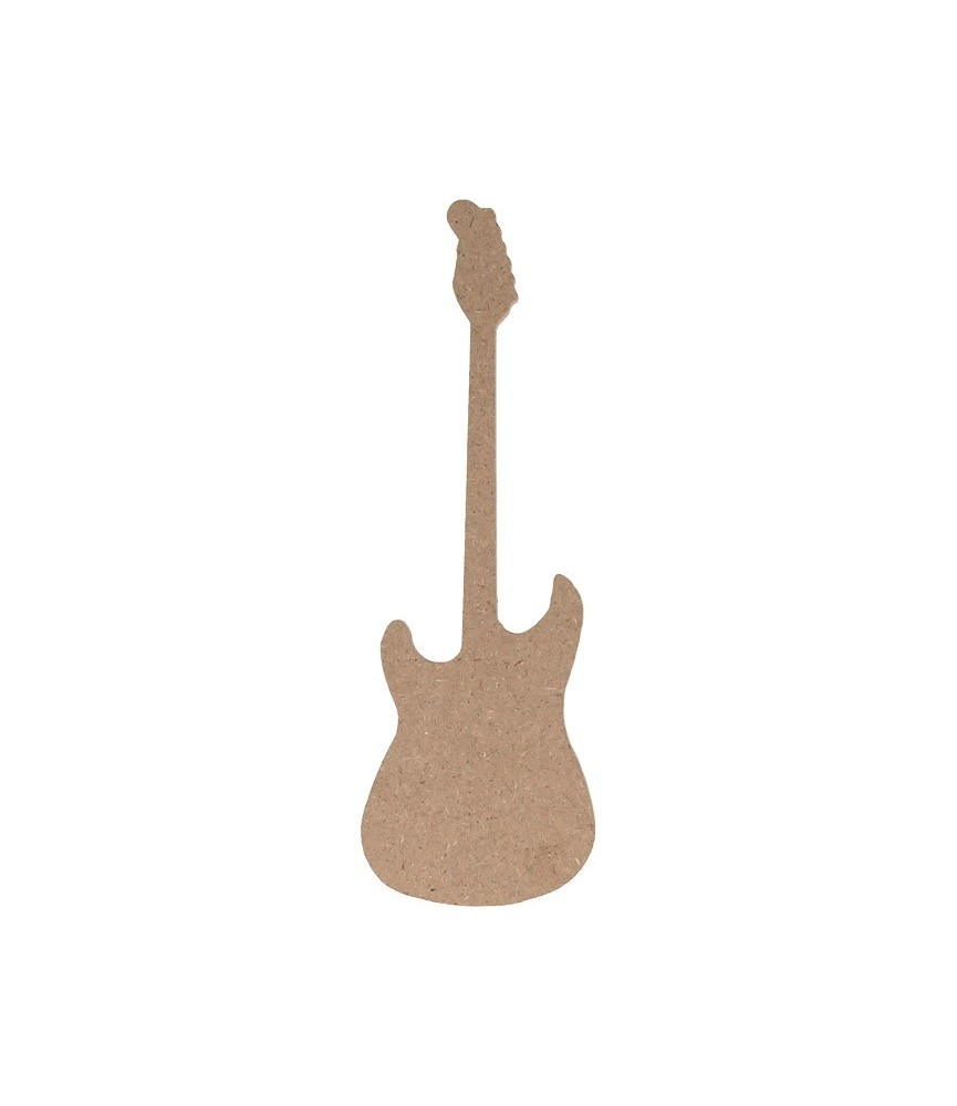Silueta de MDF Guitarra