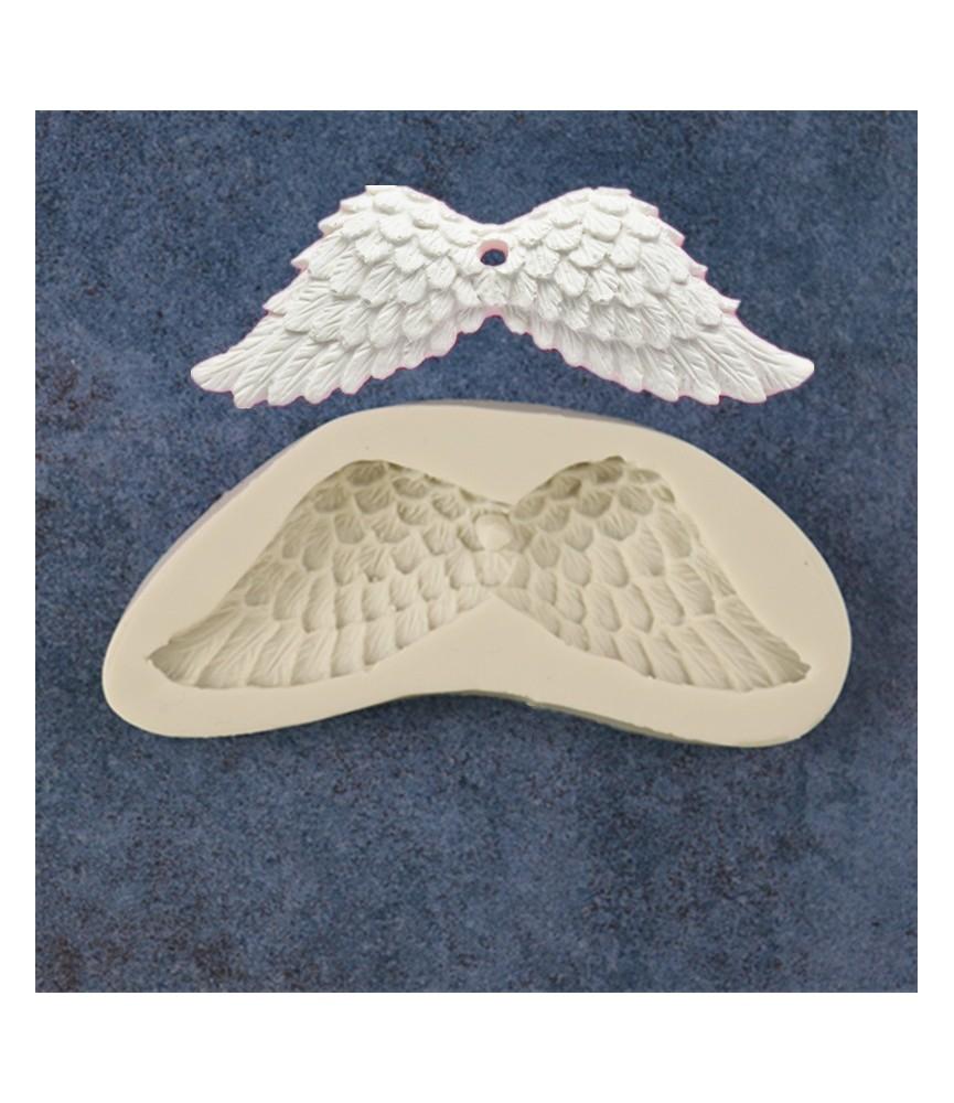 Molde de silicona alas angel