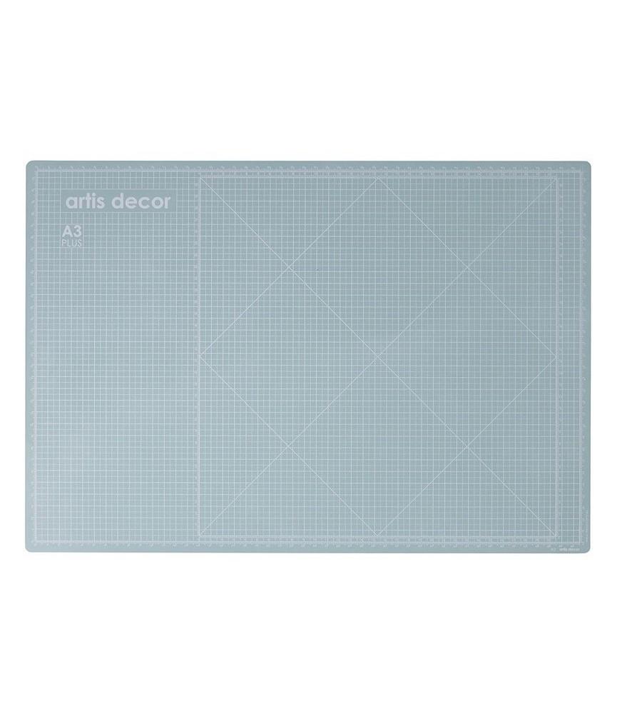 Base de corte doble cara 45x30 azul agua