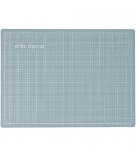 Imagén: Base de corte doble cara 30x20 cm azul agua y rosa