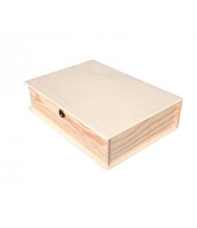 Comprar Caja madera libro grande 34x24cm de Conideade