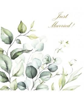 Comprar Servilleta decorativa Just Married de Conideade