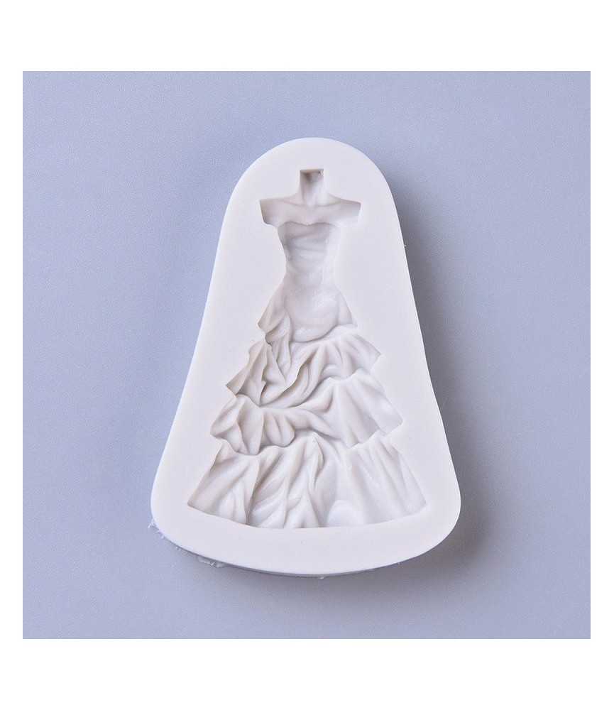 Molde de silicona Vestido