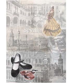 Papel de Arroz en A4 Sevilla