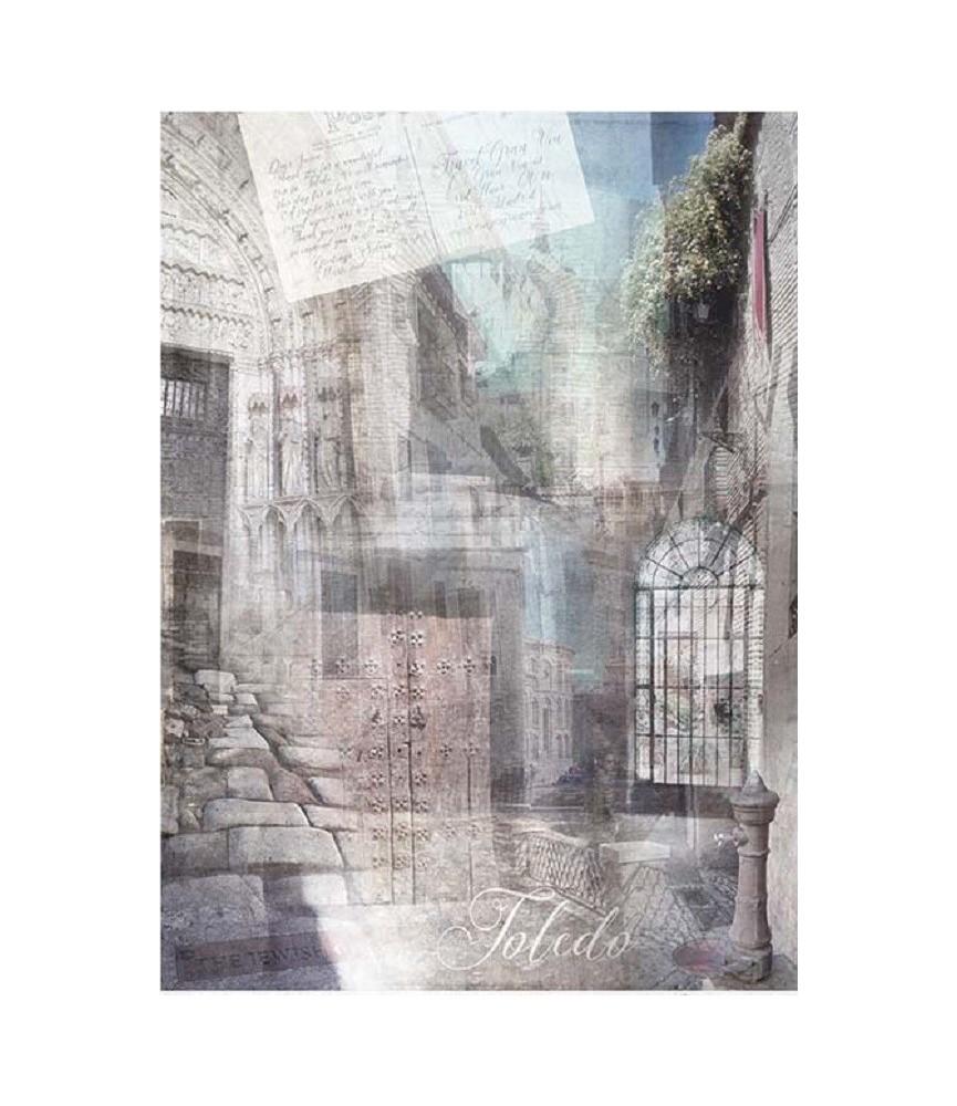 Papel de Arroz en A4 Toledo