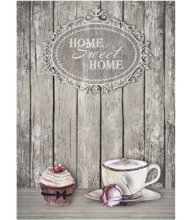 Papel de Arroz en A4 Sweet Home