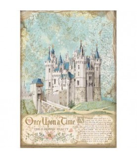 Comprar Papel de Arroz en A4 castillo