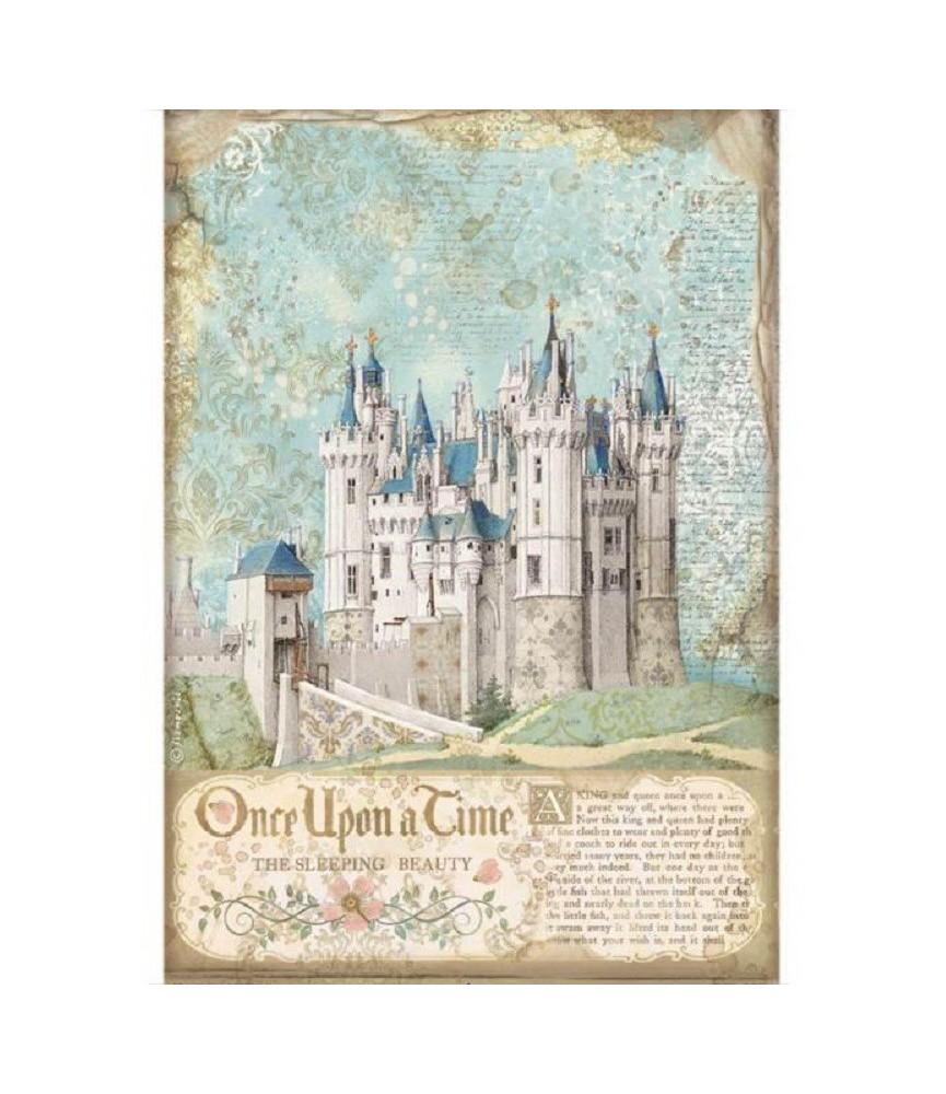 Papel de Arroz en A4 castillo
