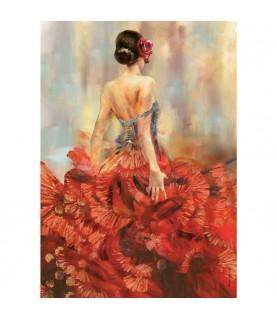 Comprar Papel de Arroz flamenca para manualidades y decoración