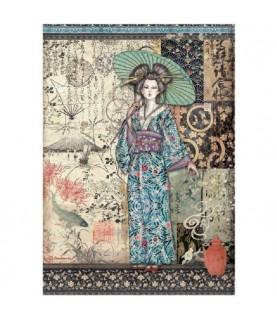 Comprar Papel de Arroz en A4 modelo Geisha de Conideade