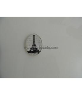 Comprar Cabuchon cristal torre eiffel 40x30mm de Conideade
