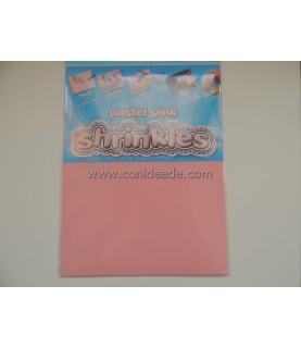 Lamina de plástico mágico rosa pastel