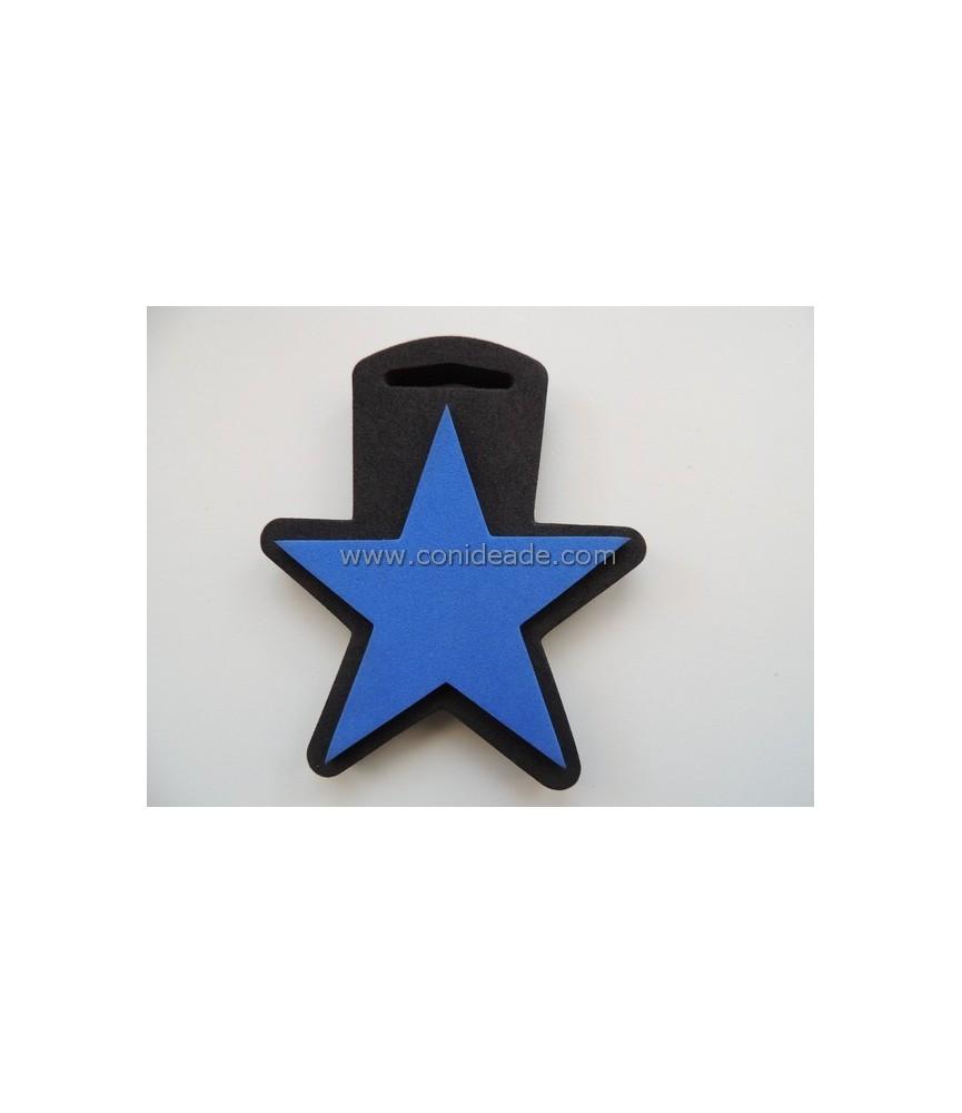 Sello de foam de estrella