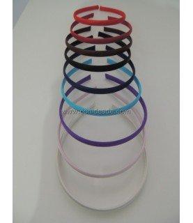Diadema forradas en raso colores
