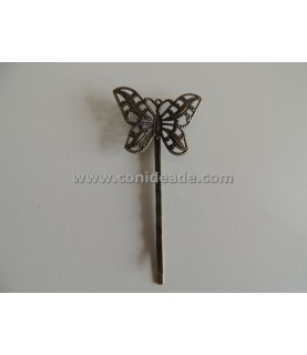 Comprar Horquilla vintage bronce mariposa de Conideade