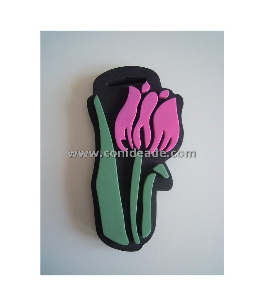 Sello de foam Tulipan