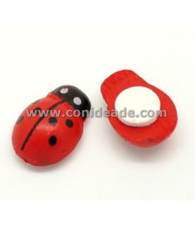 Comprar Mariquitas de madera 13mm adhesivo de Conideade