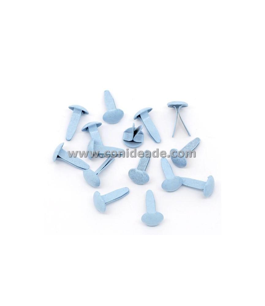 Pack 10 Encuadernadores redondos azules