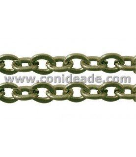 Comprar Cadena bronce eslabón redondeado 3,5x4 mm