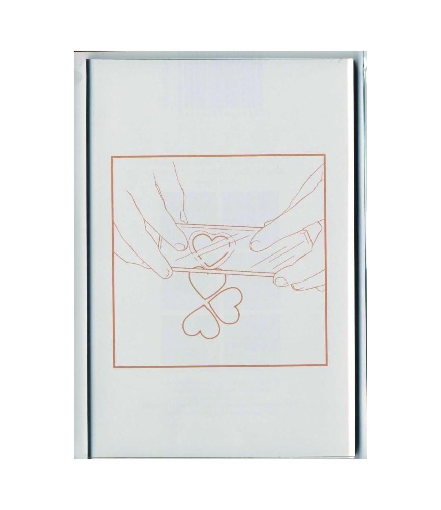 Bloque acrílico para sellos 12x16 cm