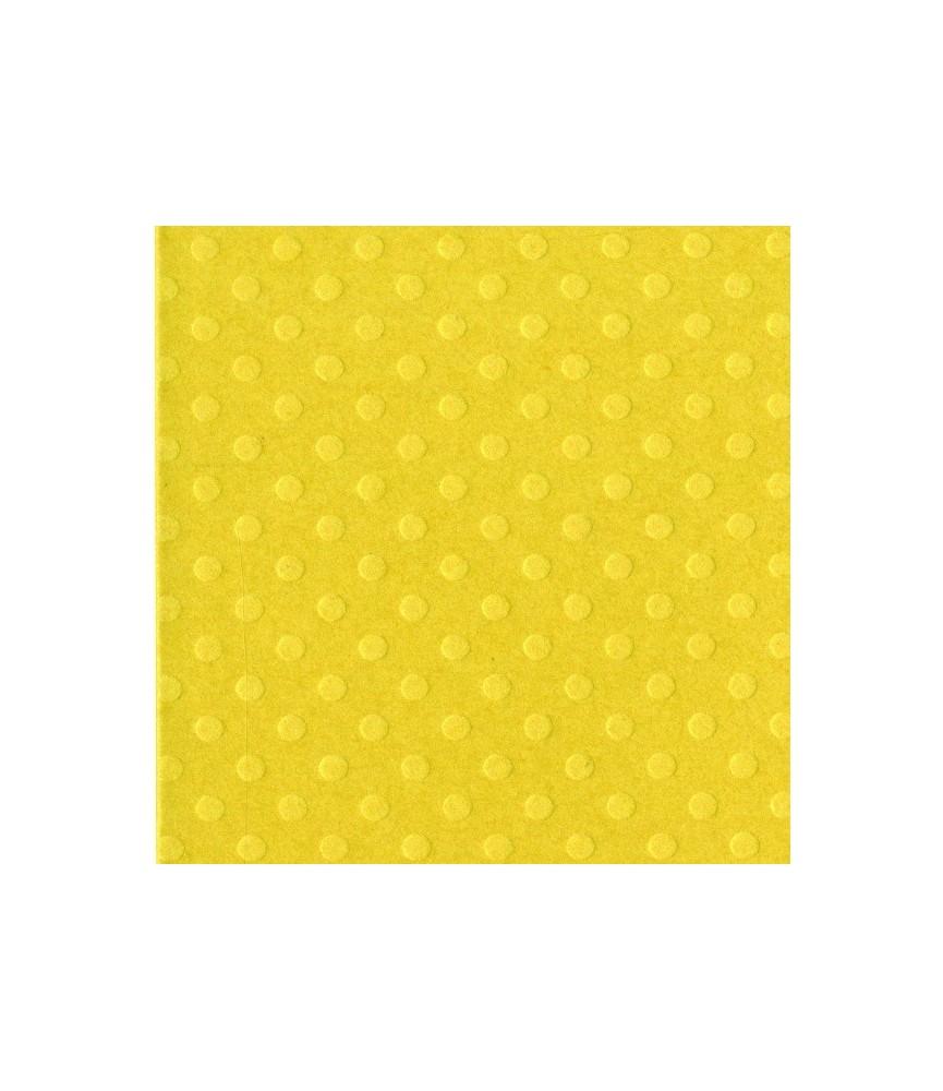 Papel Básico Bazzil puntos amarillo