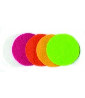 Pack 25 círculos de fieltro 5 cm