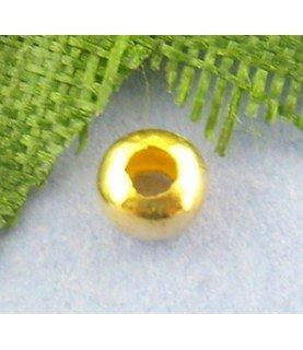 Comprar Pack de 25 chafas doradas 3mm de Conideade