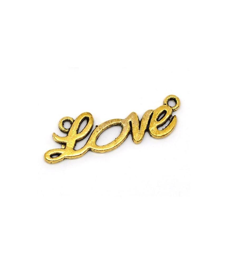 Charm Love dorado