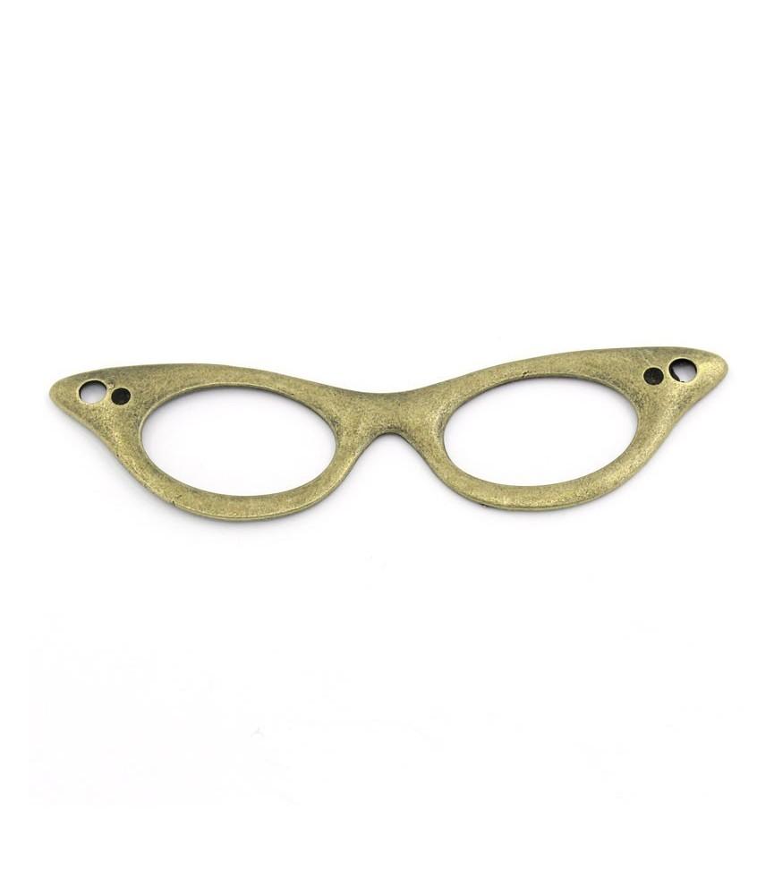 Conector colgante gafas grandes