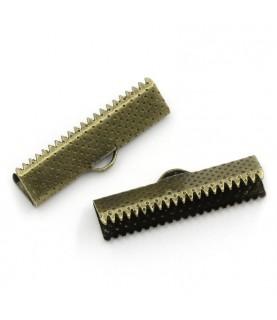 Comprar Terminal dentado 35mm bronce de Conideade