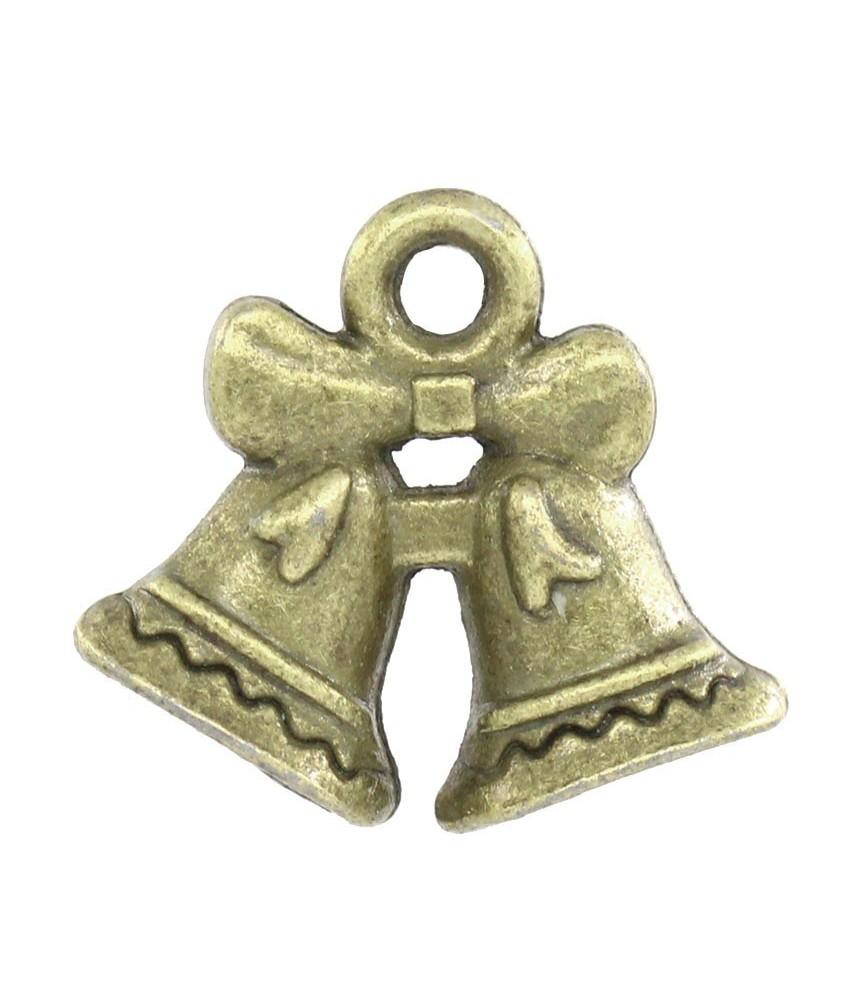 Charm campanas bronce