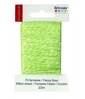 Imagén: Cordón de fantasia verde lima  23m